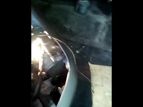 Chery tiggo T11 2012г/в замена противотуманок