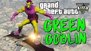 getlinkyoutube.com-GTA 5 Mods : Green Goblin - ЗЕЛЕНЫЙ ГОБЛИН МОД!