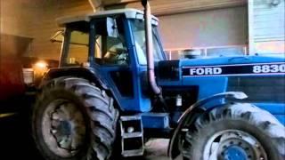 HK test af 2 af Klinting maskinstation's traktorer