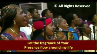 Lord make me a reflection and let me be Your fragrance (SONG)