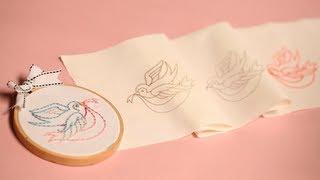 getlinkyoutube.com-Three Ways to Transfer Embroidery Patterns | Kin Community