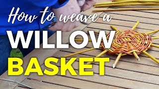 How to Weave a Willow Basket - Part 1 of 4
