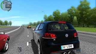 getlinkyoutube.com-City Car Driving 1.5.3 Volkswagen Golf R TrackIR 4 Pro [1080P]