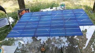 getlinkyoutube.com-Sistem fotovoltaic 1Kwh Home made