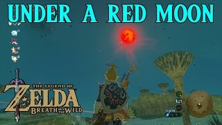 Zelda Breath Of The Wild Playthrough: Under A Red Moon, Mijah Rokee Shrine width=