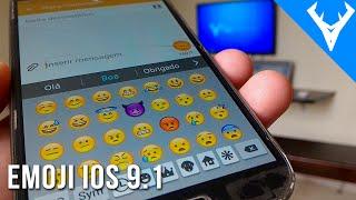 getlinkyoutube.com-Como ter os emojis do IOS 9.1 no android - Emoji do iphone