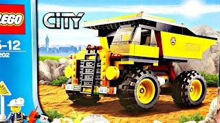 getlinkyoutube.com-Mining Truck / Ciężarówka Górnicza 4202 - Lego City - Recenzja