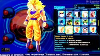 getlinkyoutube.com-[VITA] Dragon Ball Z Battle of Z | Todos los personajes | Todas las misiones |