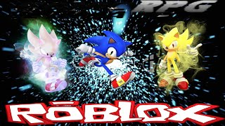 getlinkyoutube.com-Roblox - Sonic Ultimate RPG - Normal, Super and Hyper Sonic!