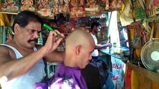 ASMR Indian Head Shave