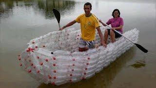 getlinkyoutube.com-5 крутых вещей, сделанных из пластиковых бутылок