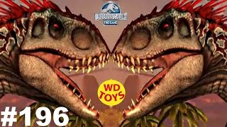 getlinkyoutube.com-Jurassic World - The Game Episode 196 New Hybrid Unayrhynchus Dinosaurs Ludia vs Indominus Rex