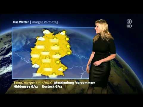 Claudia Lederrock Kleinert ARD-Wetter HD 06-11-2011