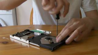 getlinkyoutube.com-How to Get the Laser diode out of Laptop DVD burner