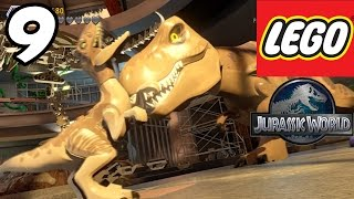 "getlinkyoutube.com-LEGO Jurassic World - Part 9 ""Raptor vs T-REX!!"" (Gameplay Walkthrough 1080p)"