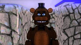 getlinkyoutube.com-Pacman vs Five nights at Freddy's