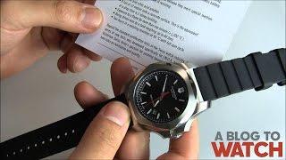 Victorinox Swiss Army INOX Watch Review   aBlogtoWatch