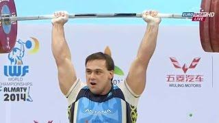 getlinkyoutube.com-2014 World Weightlifting Championships, Men 105 kg \ Тяжелая Атлетика. Чемпионат Мира