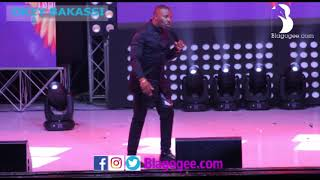 Okey Bakassi, Salvado Cracks Audience At 2018 Easter Comedy Show width=