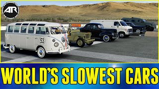 getlinkyoutube.com-Forza 6 Online : WORLD'S WORST DRAG RACE!!! (Slowest Cars In The World)
