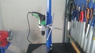 getlinkyoutube.com-trapano a colonna fai da te (homemade drill press)