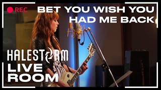 "getlinkyoutube.com-Halestorm - ""Bet You Wish You Had Me Back"" captured in The Live Room"