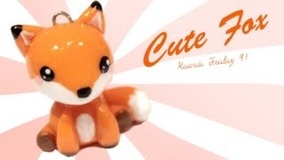 getlinkyoutube.com-◕‿◕Fox! Kawaii Friday 91 - Tutorial in Polymer clay!