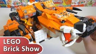 """getlinkyoutube.com-ЛЕГО Легенды Чимы """"Передвижной командный пункт тигров"""" 70224 (LEGO Legends of Chima)"""