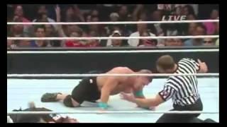 getlinkyoutube.com-HD - HQ - Cena VS Owens - WWE Elimination Chamber 2015