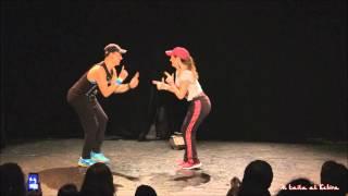 getlinkyoutube.com-Zomzom and Yaël Zarca - Street shaabi duet in Paris 2014