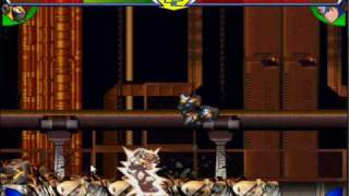 getlinkyoutube.com-megaman x rush to battle  shadow vs gaea