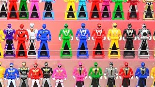 getlinkyoutube.com-Display Your Ranger Keys! (Gokaiger/Power Rangers Super Megaforce!)