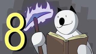 "Minecraft for noobs (cartoon) part 8 ""Enchanting"""