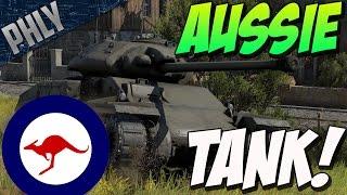 getlinkyoutube.com-AUSTRALIAN TANK - AC IV THUNDERBOLT (War Thunder Tank Gameplay)