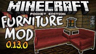 getlinkyoutube.com-MORE FURNITURE in MCPE!!! - The Furniture Mod for 0.13.0 - Minecraft PE (Pocket Edition)