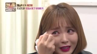 트로트퀸 홍진영, 신인 시절 이야기하다 '눈물'