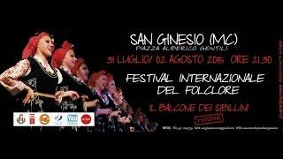 PROMO 8^ Il Balcone dei Sibillini-Festival Internazionale del Folklore