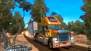 getlinkyoutube.com-American Truck Simulator   Caminos Extremos   Freightliner Classic XL