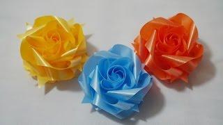 getlinkyoutube.com-สอนพับเหรียญโปรยทานดอกกุหลาบชั้นเดียว Full HD