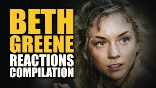 getlinkyoutube.com-The walking Dead | Beth Greene Reaction Compilation
