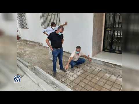 A buen ritmo las obras en la calle Álvarez Leiva