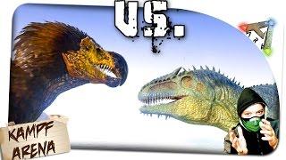 getlinkyoutube.com-Giganotosaurus vs. DodoRex | Ark Survival Evolved: ✪ Ark SE German Deutsch