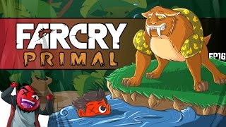 "getlinkyoutube.com-Let's Play | Far Cry: Primal -- ""Sabertooth Swimming Lessons!"" (EP16) (I'm a Sh*tty Instructor)"