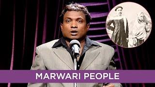 Sunil Pal Makes Fun Of Marwari People | B4U Comedy