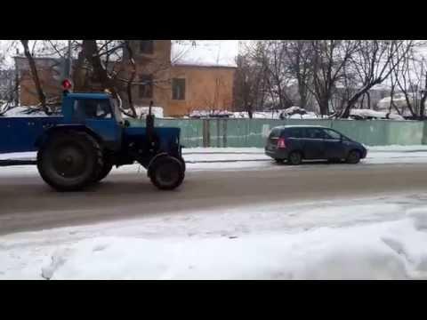 Уборка улиц по Калужски)