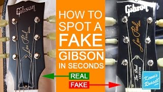 getlinkyoutube.com-How to Spot a FAKE Gibson in Seconds!