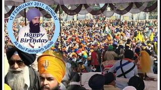 Sant Bhindranwale's Birthday 2017 | Sri Fategarh Sahib