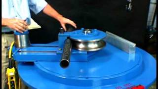 getlinkyoutube.com-Setting The Roller to the correct position on the pipe bender