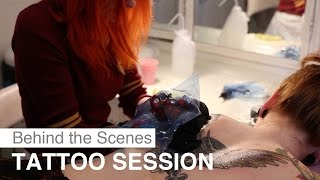 getlinkyoutube.com-Tattoo Session with Cira Las Vegas