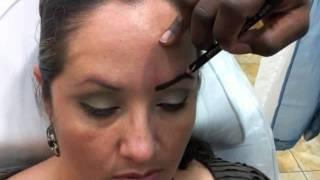 getlinkyoutube.com-permanent makeup  - eyebrow drawing